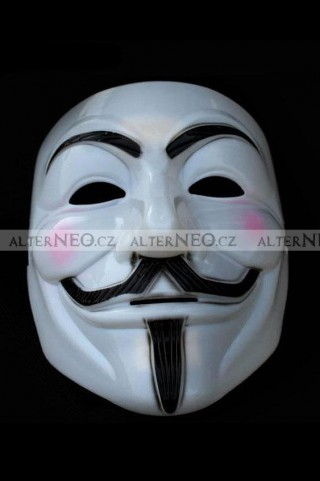 Maska Anonymous, Guy Fawkes, V jako Vendeta