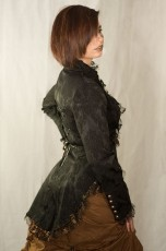 Sako Steampunk Brocade Blouse