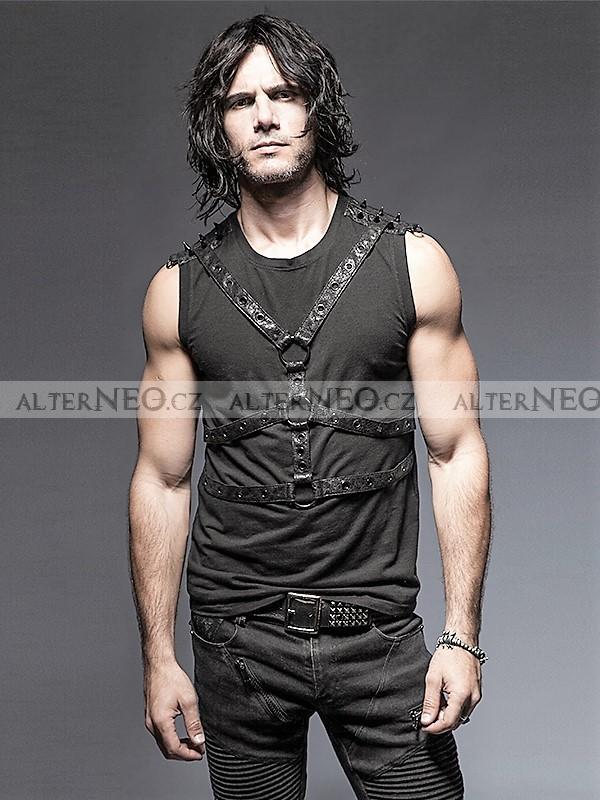 Černé pánské tričko bez rukávů Humungus 920Kč da09d6dfc6